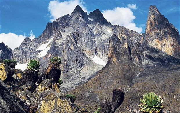 טיפוס להר קניה - תמונה