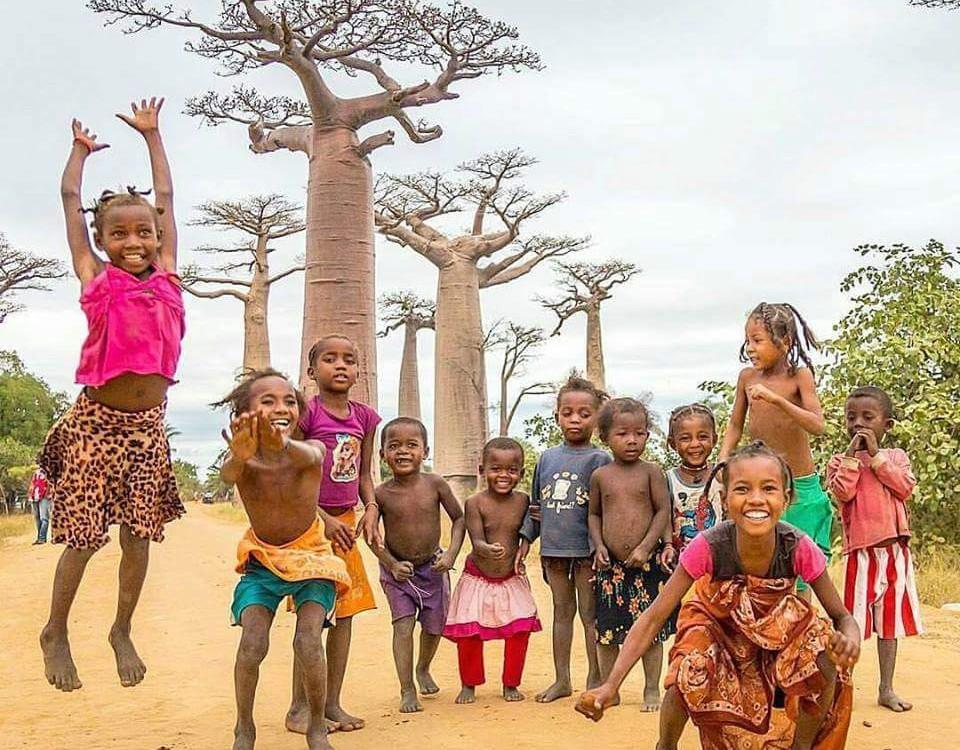 טיול מקיף במדגסקר עולם הספארי באובב